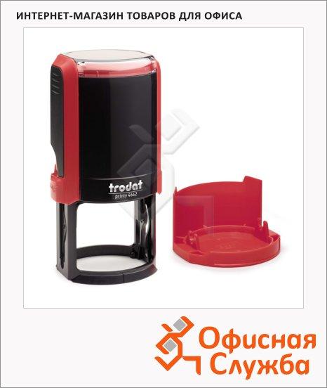 фото: Оснастка для круглой печати Trodat Printy d=42 4642, красная