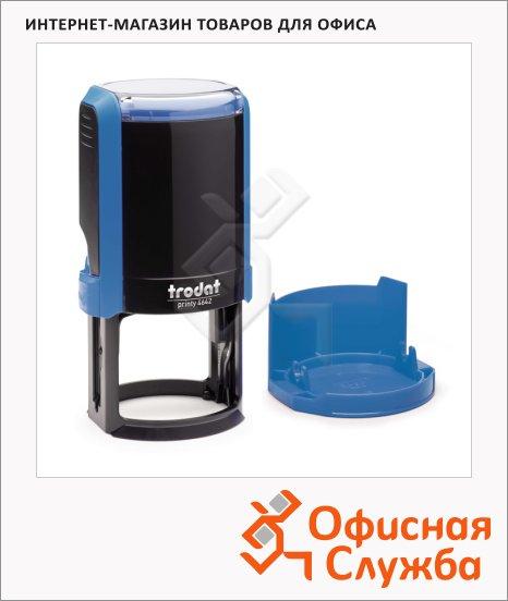 фото: Оснастка для круглой печати Trodat Printy d=42мм 4642, синяя