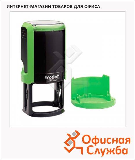 фото: Оснастка для круглой печати Trodat Printy d=42 4642, зеленая