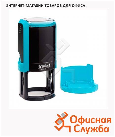 фото: Оснастка для круглой печати Trodat Printy d=42мм 4642, голубая