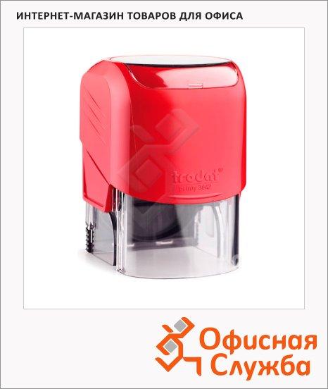фото: Оснастка для круглой печати Trodat Printy d=42мм 3642, красная