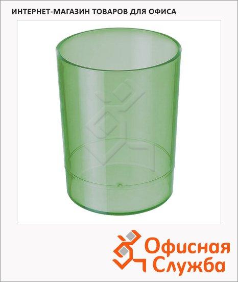 фото: Подставка для ручек Стамм Офис 70х90мм зеленая, СН604
