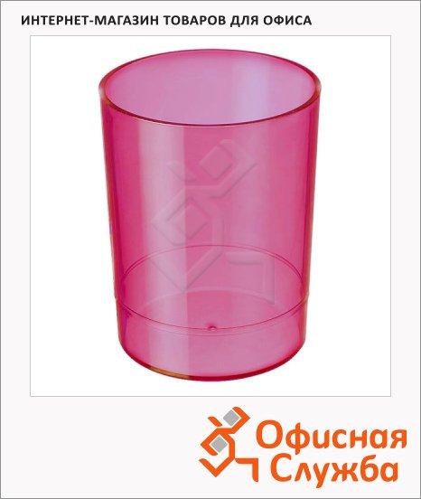 Подставка для ручек Стамм Офис 70х90мм, розовая, СН607