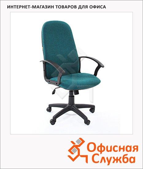 фото: Кресло руководителя Chairman 289 NEW ткань крестовина пластик, зеленая