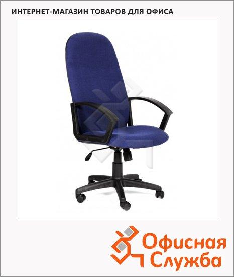 Кресло руководителя Chairman 289 NEW ткань, крестовина пластик, синяя