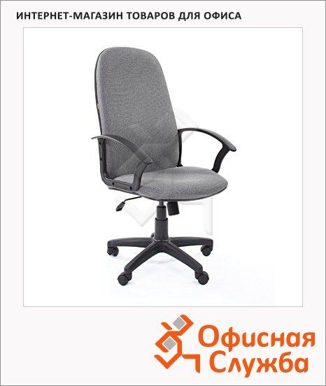 фото: Кресло руководителя Chairman 289 NEW ткань крестовина пластик, серая