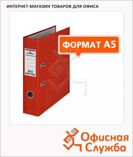 Папка-регистратор А5 Durable красная, 70 мм, 3112-03