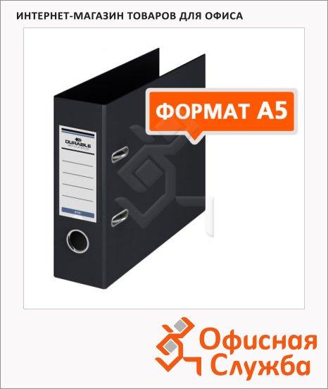 фото: Папка-регистратор А5 Durable черная 70 мм, 3113-01