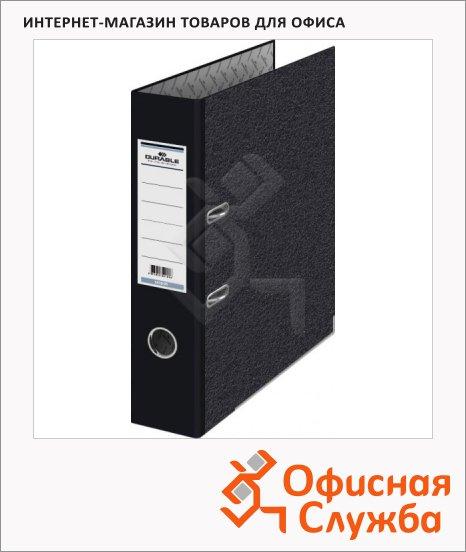 Папка-регистратор А4 Durable черная, 70 мм, 3410-01