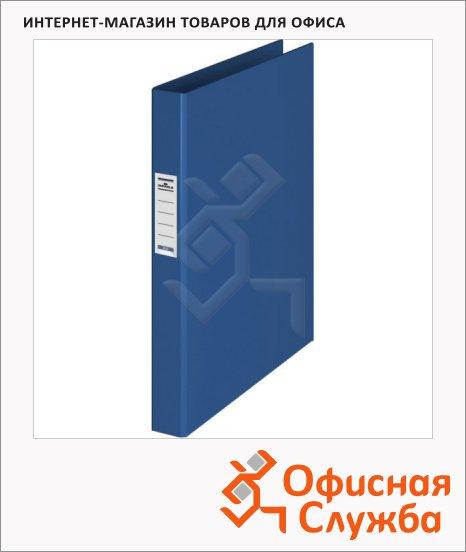 Папка на 4-х кольцах А4 Durable синяя, 35 мм, 3140-07