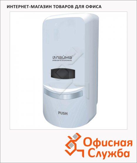 Диспенсер для мыла наливной Лайма Professional 601424, белый, 1л