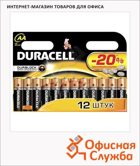 фото: Батарейка Basic 1.5В, AA/LR6, алкалиновые, 12шт./уп