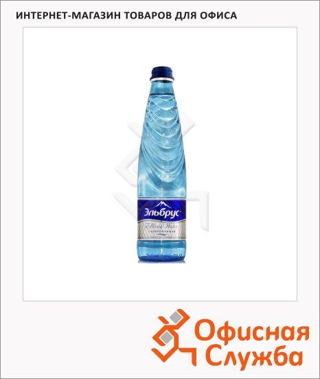 фото: Вода питьевая Эльбрус газ 0.4л х 12шт, стекло