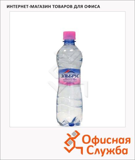 Вода минеральная Эльбрус без газа, ПЭТ, 0.5л х 12шт