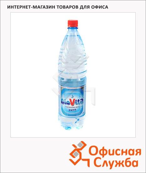 Вода минеральная Biovita без газа, 1.5л х 6шт, ПЭТ