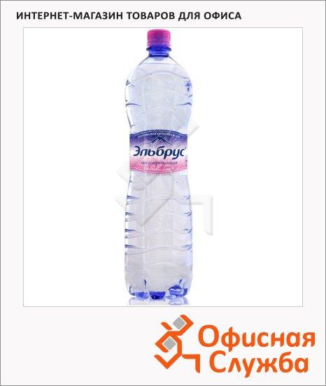 Вода минеральная Эльбрус без газа, ПЭТ, 1.5л х 6шт