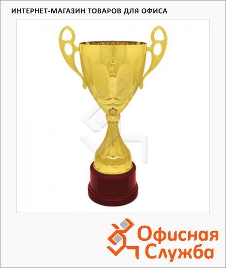 Кубок металлический Иосиф 25х25х45см, красный с золотом