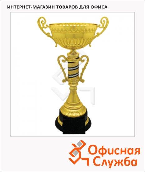 фото: Кубок металлический Мавр 24х16х40см черный с золотом