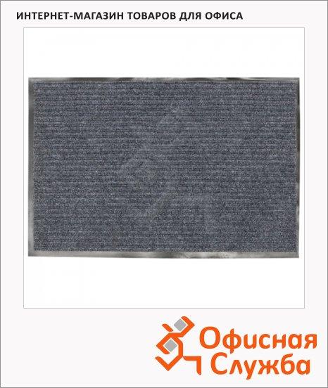 Коврик придверный Vortex ворсовый, 60х40см, серый