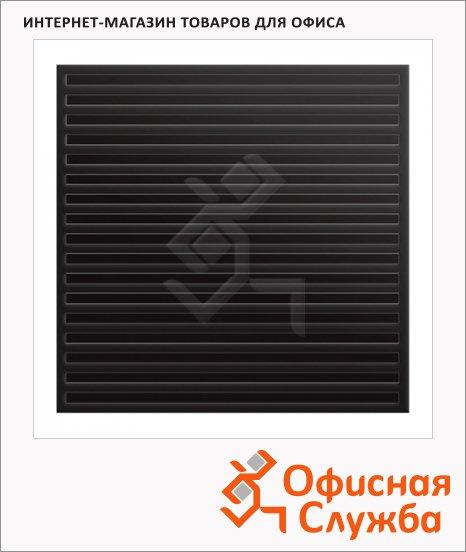 Коврик придверный диэлектрический, 75х75см, черный