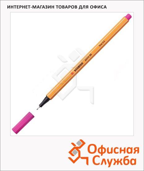 Ручка капиллярная Stabilo Point розовая, 0.4мм