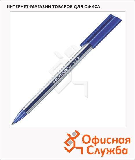 фото: Ручка шариковая Staedtler Ball синяя 0.5мм