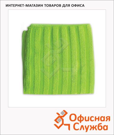 фото: Салфетка хозяйственная Лайма Скраббер 30х30см, микрофибра/ абразивные полоски