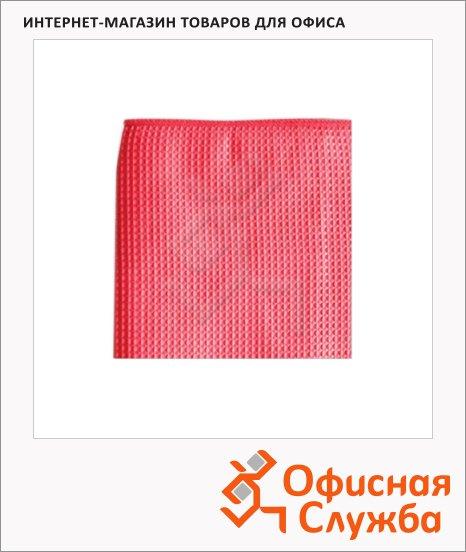 Полотенца для кухни Лайма вафельные, 40х60см, микрофибра, 2шт/уп, коралловый
