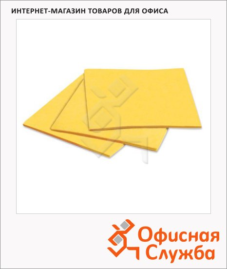 Салфетка хозяйственная Лайма универсальная, 30х38см, вискоза, 3шт/уп