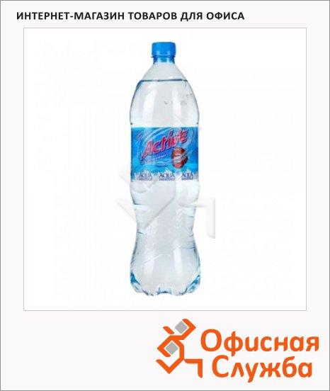 Вода питьевая Aqua Minerale Актив без газа, ПЭТ, малина, 1.25л х 12шт