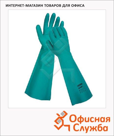 фото: Перчатки защитные Kimberly-Clark Jackson Safety G80 25623 защита от химикатов, зеленые, L