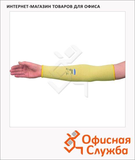 фото: Антипорезные рукава Kimberly-Clark Jackson Safety G60 90071 без отверстия для пальца, желтые, 12шт