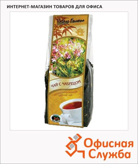 фото: Чай с чабрецом черный, листовой, 100 г