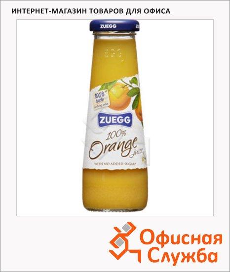 Сок Zuegg апельсин, 0.2л, стекло