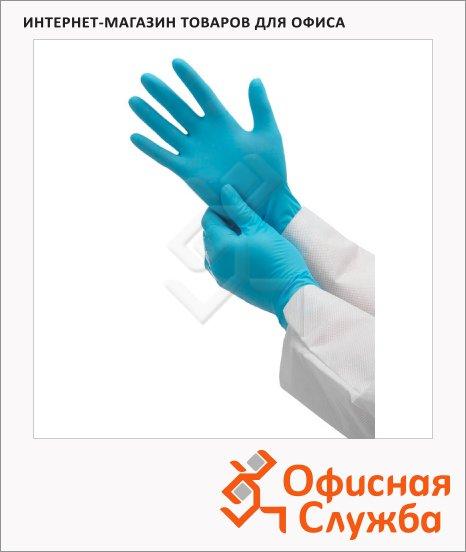 Перчатки защитные Kimberly-Clark Кleenguard G10 57370, нитриловые, голубые, XS, 50 пар