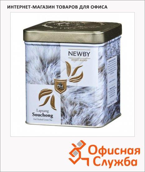 фото: Чай Newby Safari Lapsang Souchong (Лапсанг Сушонг) черный, листовой, 125 г, ж/б