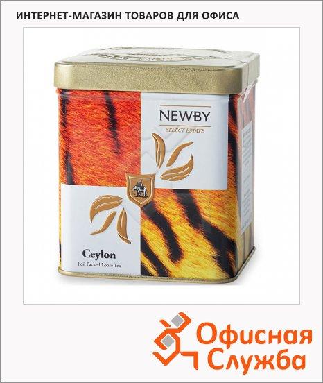 фото: Чай Newby Safari Ceylon (Цейлон) черный, листовой, 125 г, ж/б