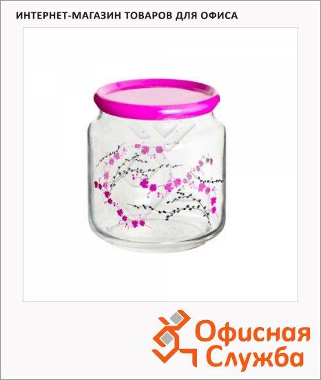 фото: Банка для сыпучих продуктов Rondo 0.5л стекло, с плотно прилегающей крышкой