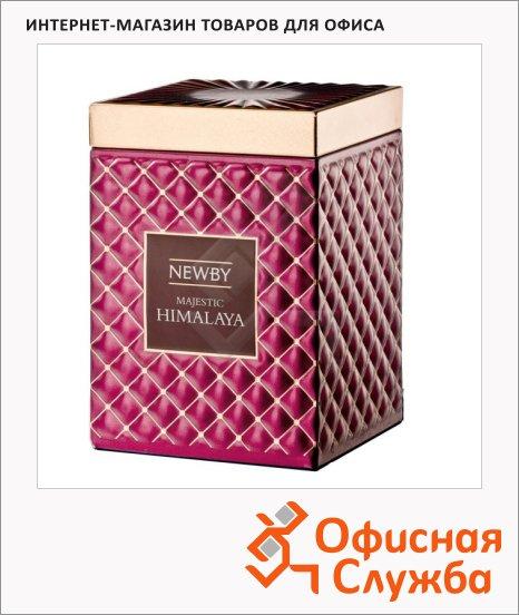Чай Newby Gourmet Majestic Himalaya (Маджестик Гималая), черный, листовой, 50 г, ж/б