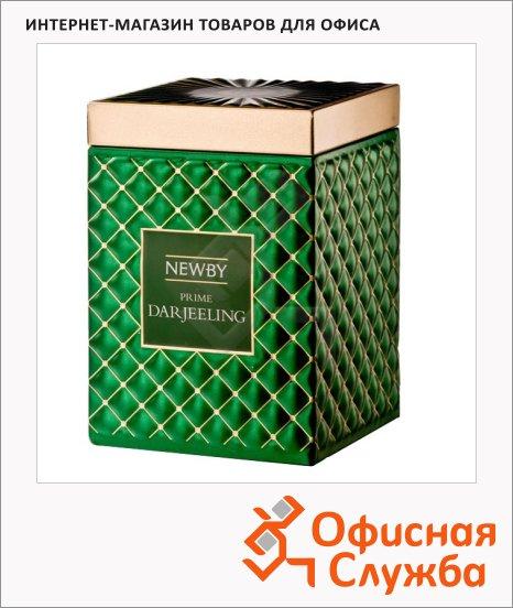 Чай Newby Gourmet Prime Darjeeling (Прайм дарджилинг), черный, листовой, 100 г, ж/б