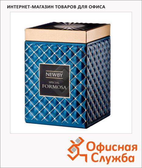 фото: Чай Newby Gourmet Special Formosa (Спешл формоза) зеленый, листовой, 50 г, ж/б