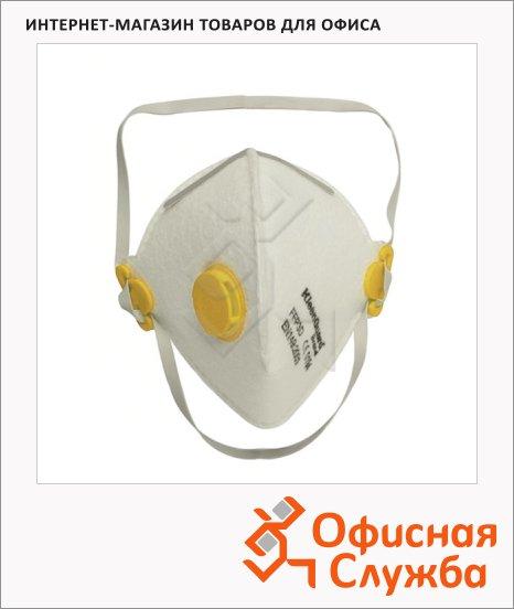 Респиратор Kimberly-Clark Kleenguard М20 62960, с клапаном, желтый