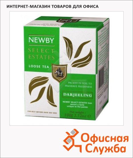 Чай Newby Darjeeling (Дарджилинг), черный, листовой, 100 г