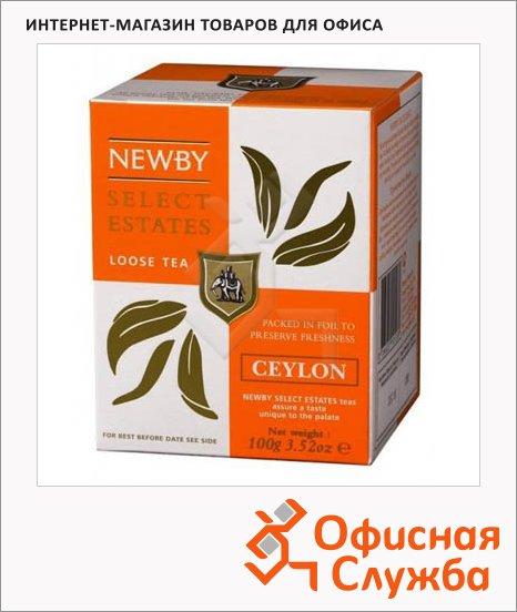 Чай Newby Ceylon (Цейлон), черный, листовой, 100 г
