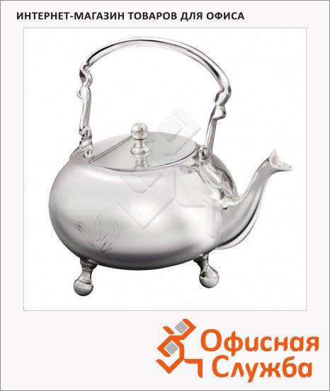 фото: Чайник заварочный Newby с серебряным покрытием 0.6 л