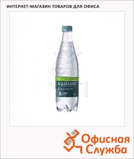 фото: Вода минеральная Aquanika газ 618мл, ПЭТ
