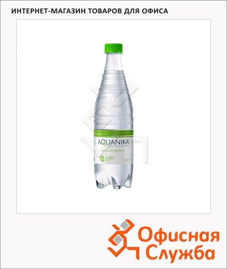 Вода минеральная Aquanika без газа, 0.618л, ПЭТ
