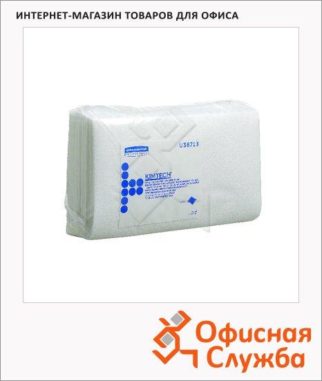 фото: Протирочные салфетки Kimberly-Clark Kimtech Auto quarterfold 38713 листовые, 400шт, 1 слой, белые