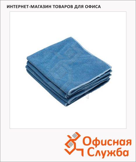 Полировочные салфетки Kimberly-Clark Kimtech 7635, микрофибра, 25шт, 1 слой, синие
