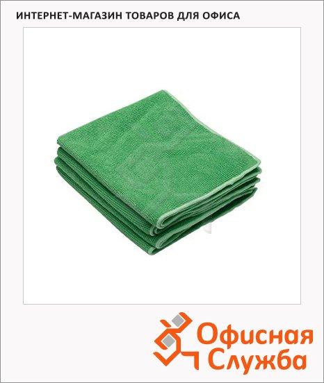 фото: Полировочные салфетки Kimberly-Clark Kimtech 7636 микрофибра, 25шт, 1 слой, зеленые